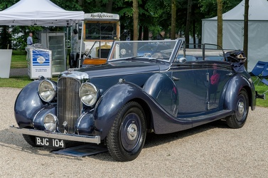 Lagonda V12 Redfern saloon tourer by Maltby's 1939 fl3q open