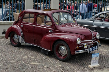 Renault 4 CV Grand Luxe decapotable 1955 fr3q