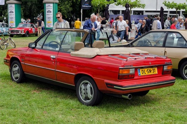 Renault Alliance DL convertible coupe 1985 rl3q