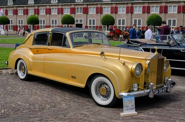 Rolls Royce Silver Cloud II Sedanca Gold by Barris Kustom 1961 fr3q
