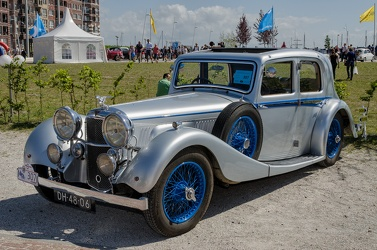 Alvis Speed 20 SD 4-light saloon by Charlesworth 1936 f3q