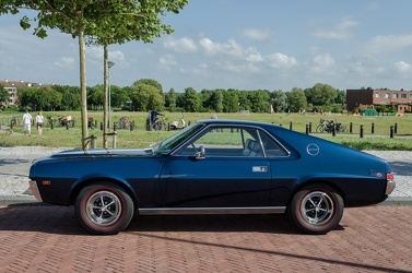 AMC AMX 1969 side