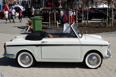 Autobianchi Bianchina cabriolet S3 1968 white side