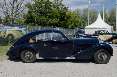 Bugatti T57 coach aero-dynamique 1938 side