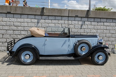 Citroen Rosalie 15 Legere coach decapotable 2-places 1933 side
