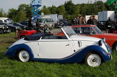NSU Fiat 1100 cabriolet by Glaser 1939 side
