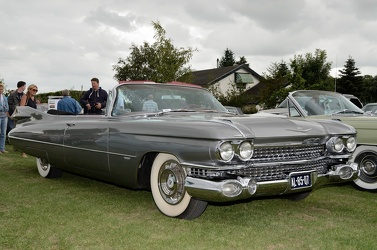 Cadillac 62 convertible coupe 1959 grey fr3q