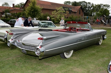 Cadillac 62 convertible coupe 1959 grey r3q