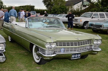 Cadillac 62 convertible coupe 1964 green fr3q