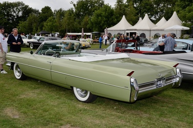 Cadillac 62 convertible coupe 1964 green r3q