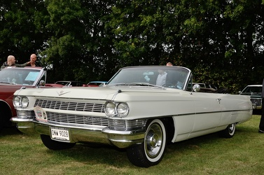 Cadillac 62 convertible coupe 1964 white fl3q