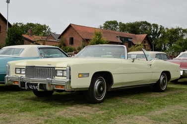 Cadillac Eldorado convertible coupe 1976 yellow fl3q
