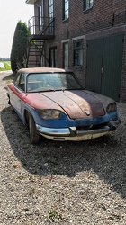 Panhard 24 BT unrestored 1965 front