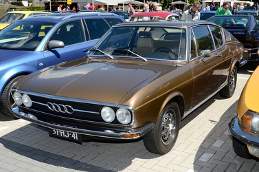 Audi 100 Coupe S 1973 brown fl3q