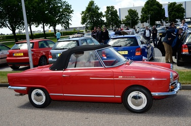 NSU Wankel Spider 1965 side