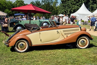 Mercedes 170 V cabriolet A 1937 side