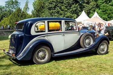 Rolls Royce 20/25 HP 1929 6-light saloon rebody by James Young 1936 r3q