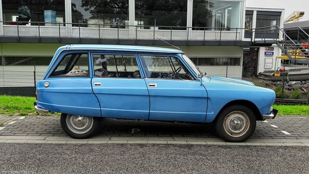 Citroen Ami 8 break 1977 side