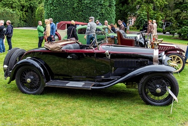 Bugatti T40A roadster 1930 side