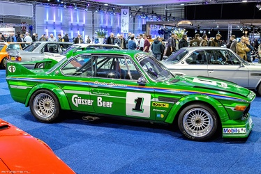 Alpina BMW 3.0 CSL E9 Group 2 replica 1974 side