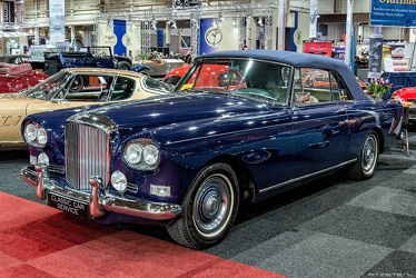 Bentley S3 Continental DHC by Mulliner Park Ward 1963 fl3q