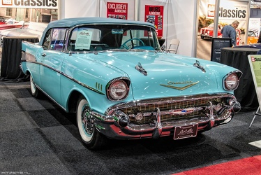 Chevrolet Bel Air convertible coupe 1957 fr3q