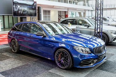 AMG Mercedes C 63 S S205 estate 2019 fr3q