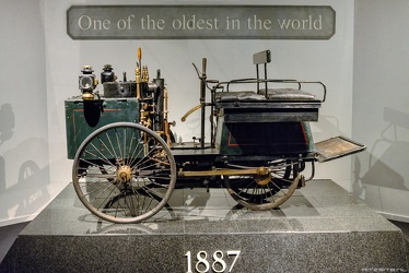 De Dion Bouton steam quadricycle 1887 side