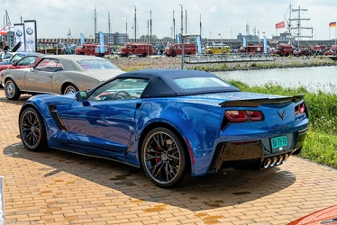 Chevrolet Corvette C7 Z06 convertible coupe 2015 r3q