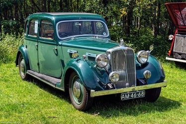 Rover P2 16 HP 6-light saloon 1947 fr3q