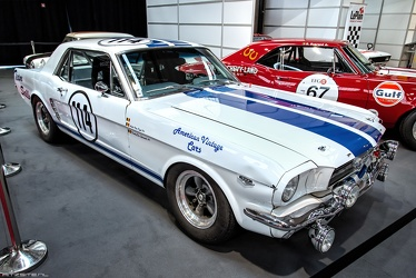 Ford Mustang hardtop coupe Group 2 replica 1965 fr3q