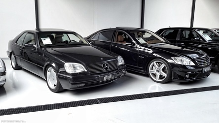 Mercedes S 600 coupe 1994 fr3q