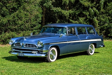 Chrysler New Yorker DeLuxe Town & Country wagon 1955 fl3q