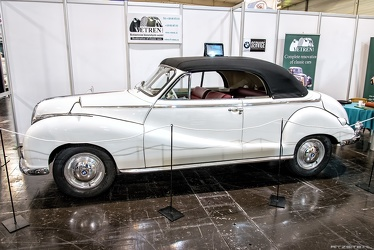 BMW 502 2-door cabriolet by Baur 1955 side