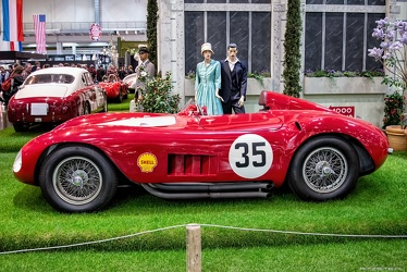 Maserati 300 S spider by Fantuzzi 1955 side
