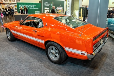 Shelby Ford Mustang S1 GT-500 fastback coupe 1969 r3q