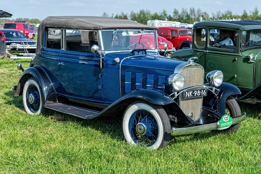 Chevrolet Confederate landau phaeton by Fisher 1932 fr3q
