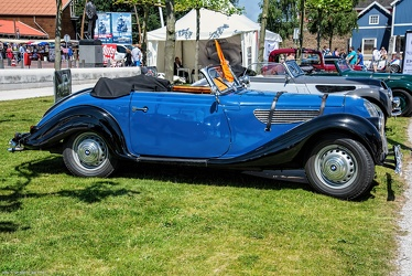 BMW 327 sport cabriolet 1937 side