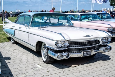 Cadillac 60 Special Fleetwood 1959 white fr3q