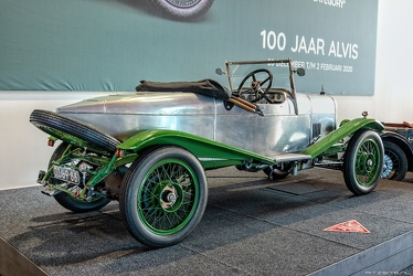 Alvis 12/40 HP Duck's Back tourer by Carbodies 1923 r3q