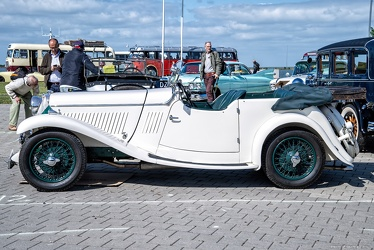 Singer 2 Litre Sports tourer 1933 side