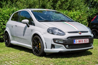 Abarth Fiat Punto Evo Supersport 2012 fr3q