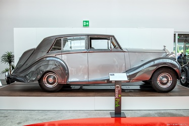 Rolls Royce Silver Wraith limousine by Hooper 1953 side