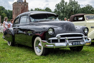 Chevrolet Fleetline 2-door sedan modified 1950 fr3q