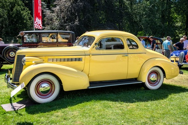 Buick Special sport coupe 1937 side