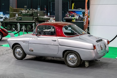 Abarth 750 GT coupe by Viotti 1956 r3q