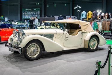 Alvis Speed 25 SB Continental sports tourer by Vanden Plas 1936 fl3q