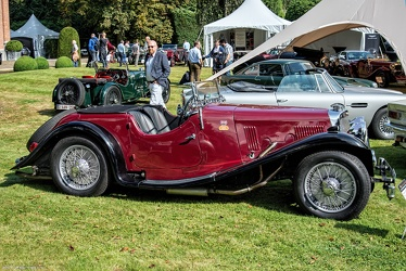 Aston Martin 15/98 HP 2 Litre 2/4 seater by Abbey 1937 side