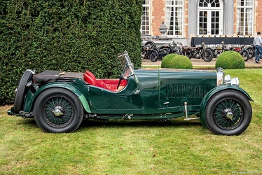 Aston Martin Mk II 2-seater 1934 side
