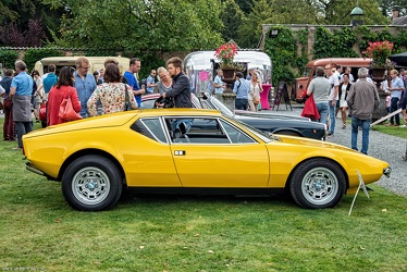 DeTomaso Pantera by Ghia 1971 side
